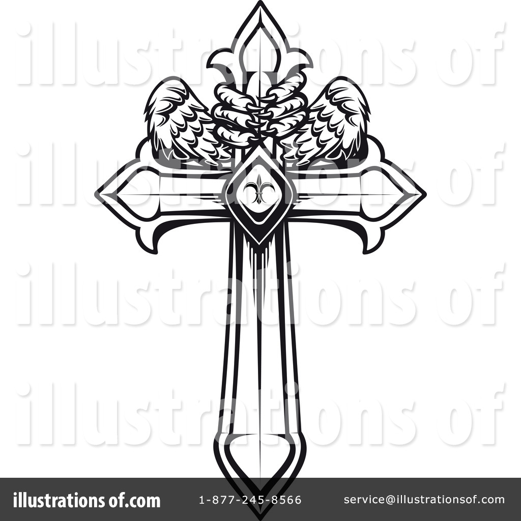 Cross Clipart #1108766 - Illustration by Vector Tradition SM