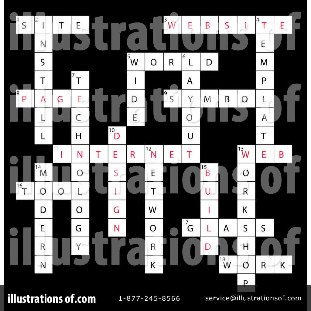 crossword puzzle clipart 86887 illustration by macx