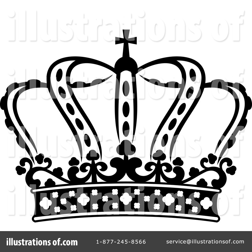 crown clipart 1227633 illustration by vector tradition sm rh illustrationsof com free clipart crowns for princess free clipart of king and queen crowns