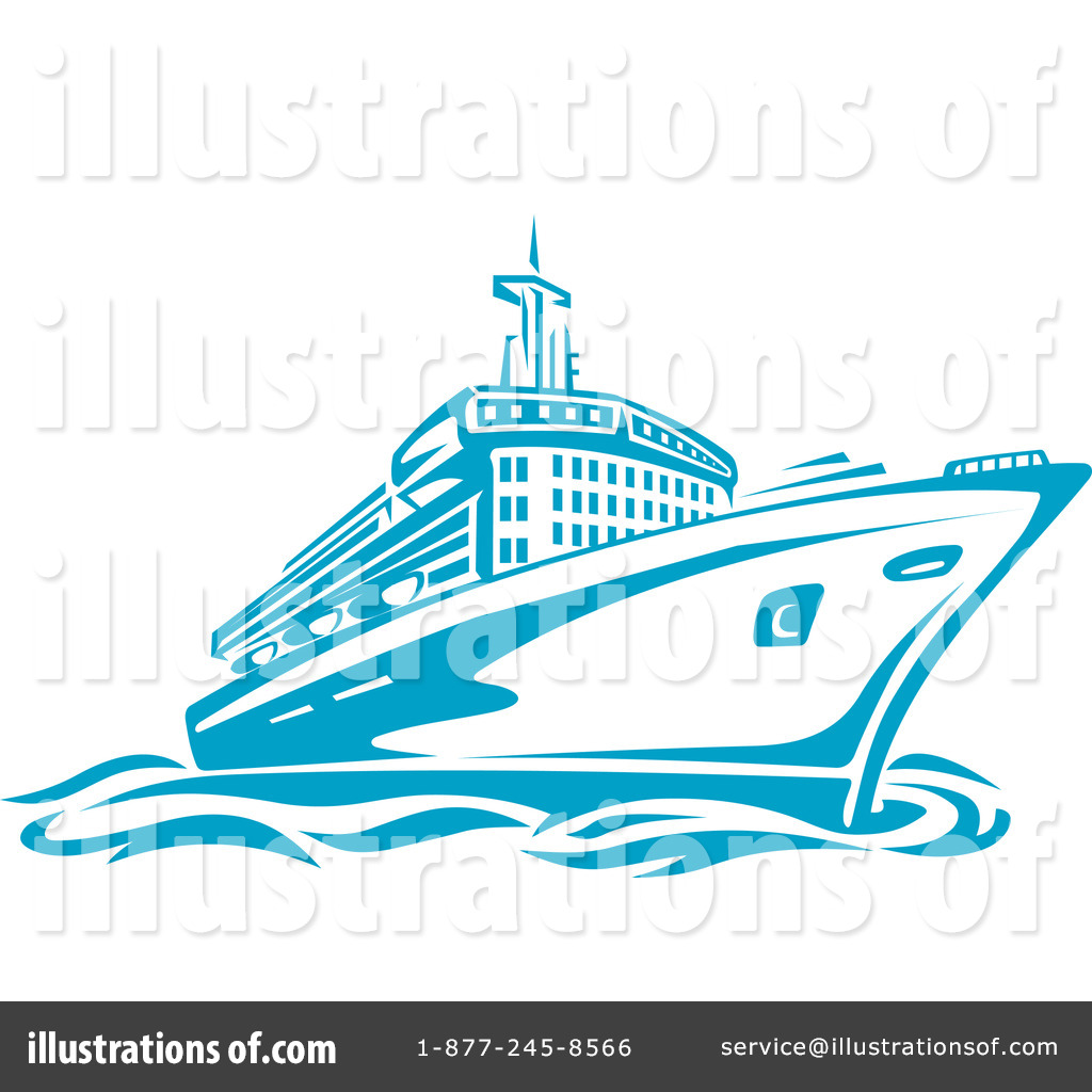 Cruise Clipart 1082399 Illustration By Vector Tradition Sm