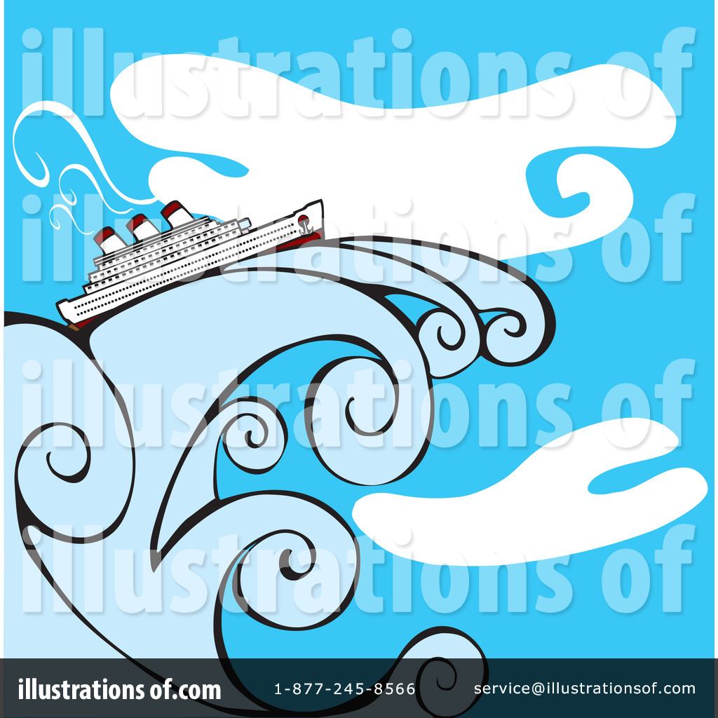 Cruise Ship Clipart #60047 - Illustration by xunantunich