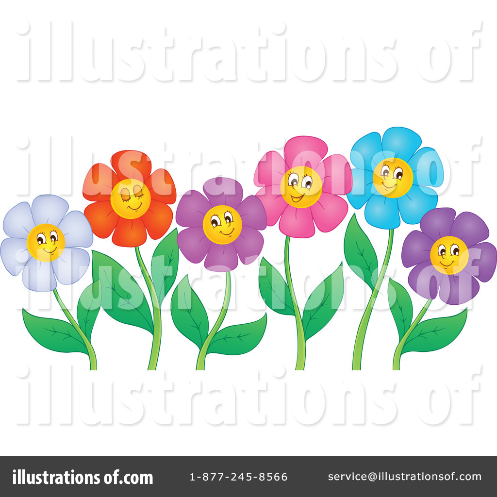 Daisies Clipart #1054252 - Illustration by visekart