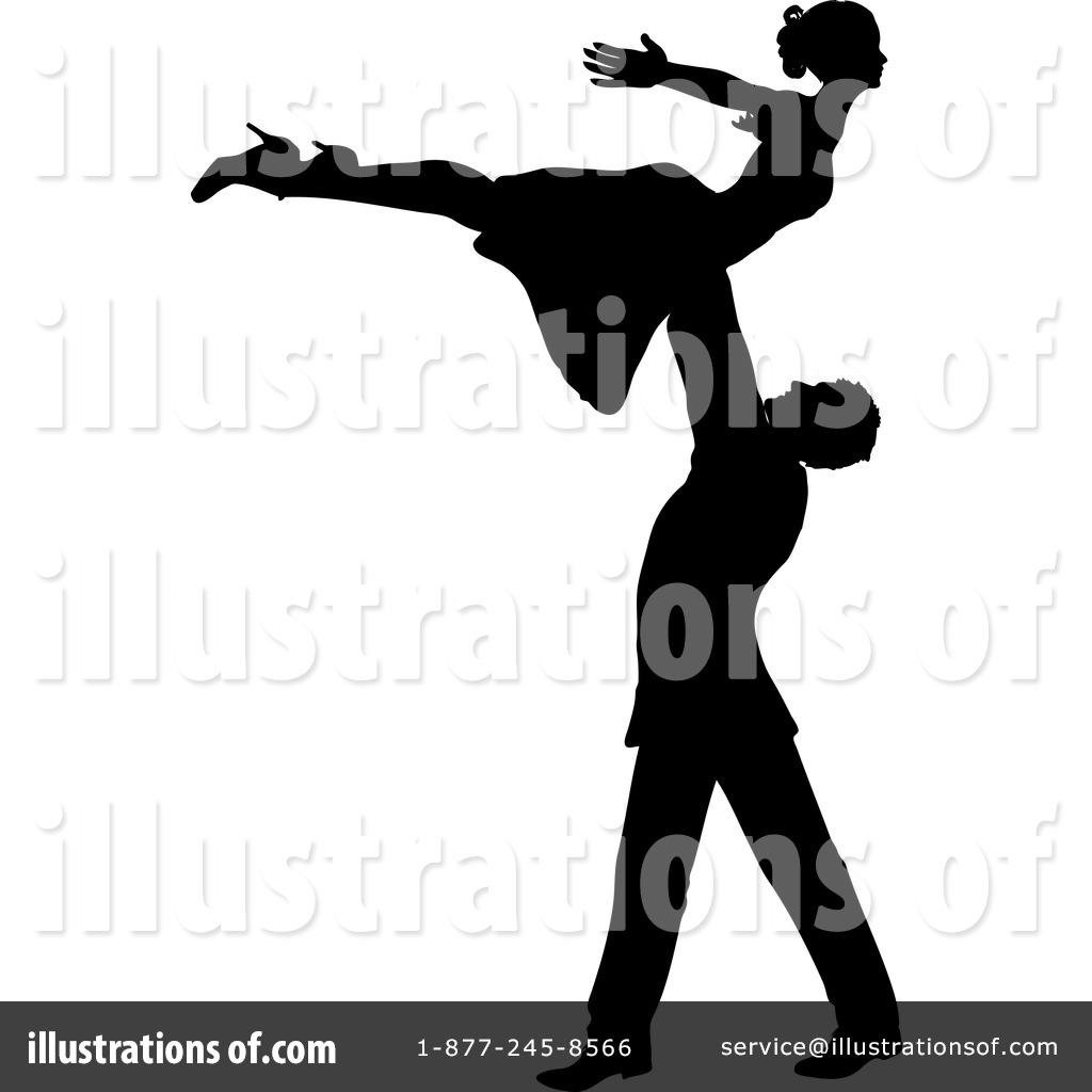 Royalty-Free (RF) Dancing Clipart Illustration #1079407