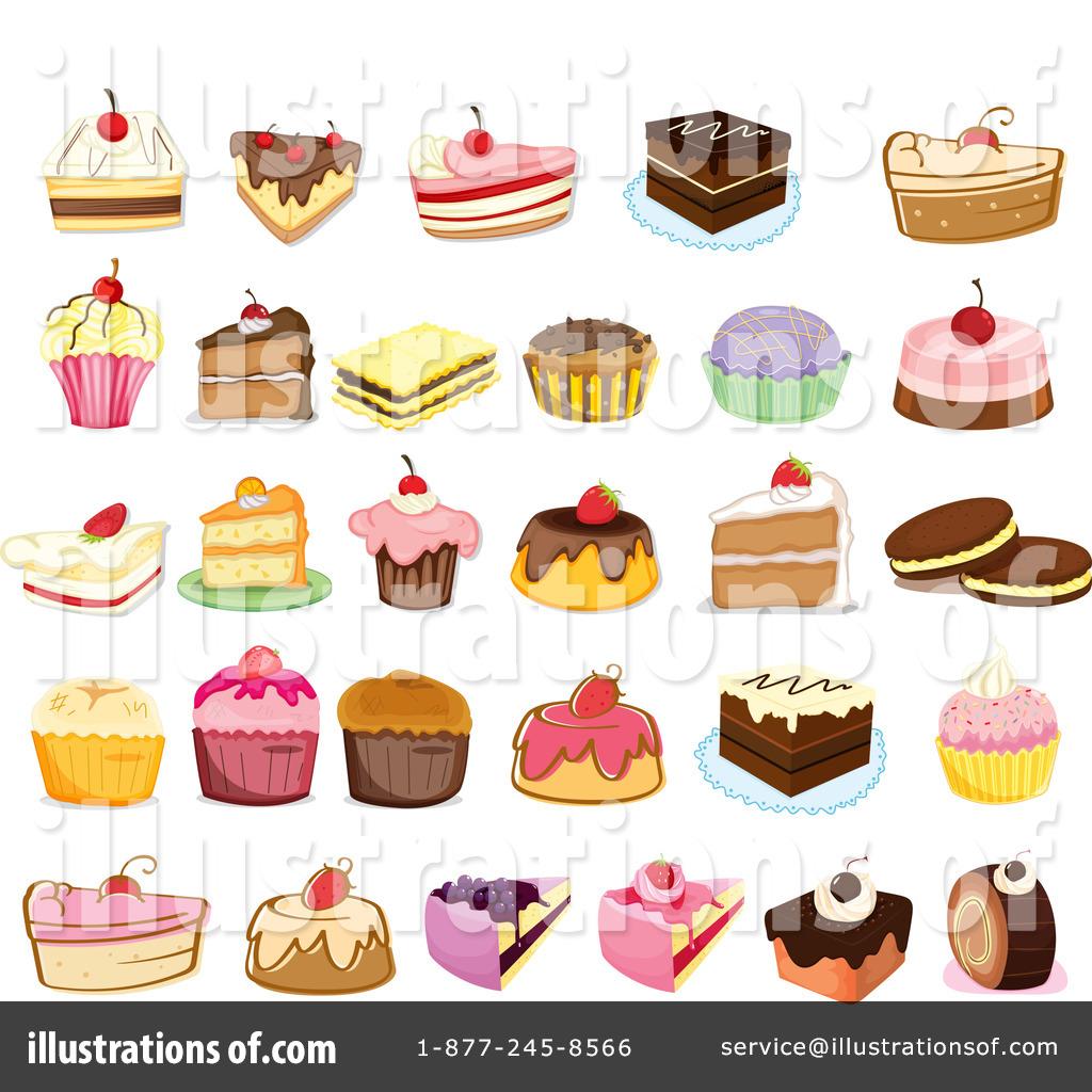Dessert Clipart #1124085 - Illustration by Graphics RF