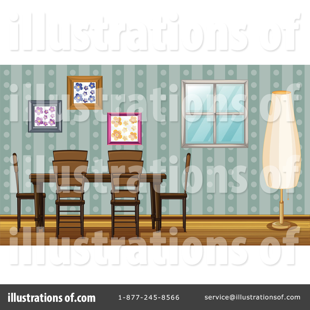 Cartoon Dining Room: Dining Room Clipart #1159740