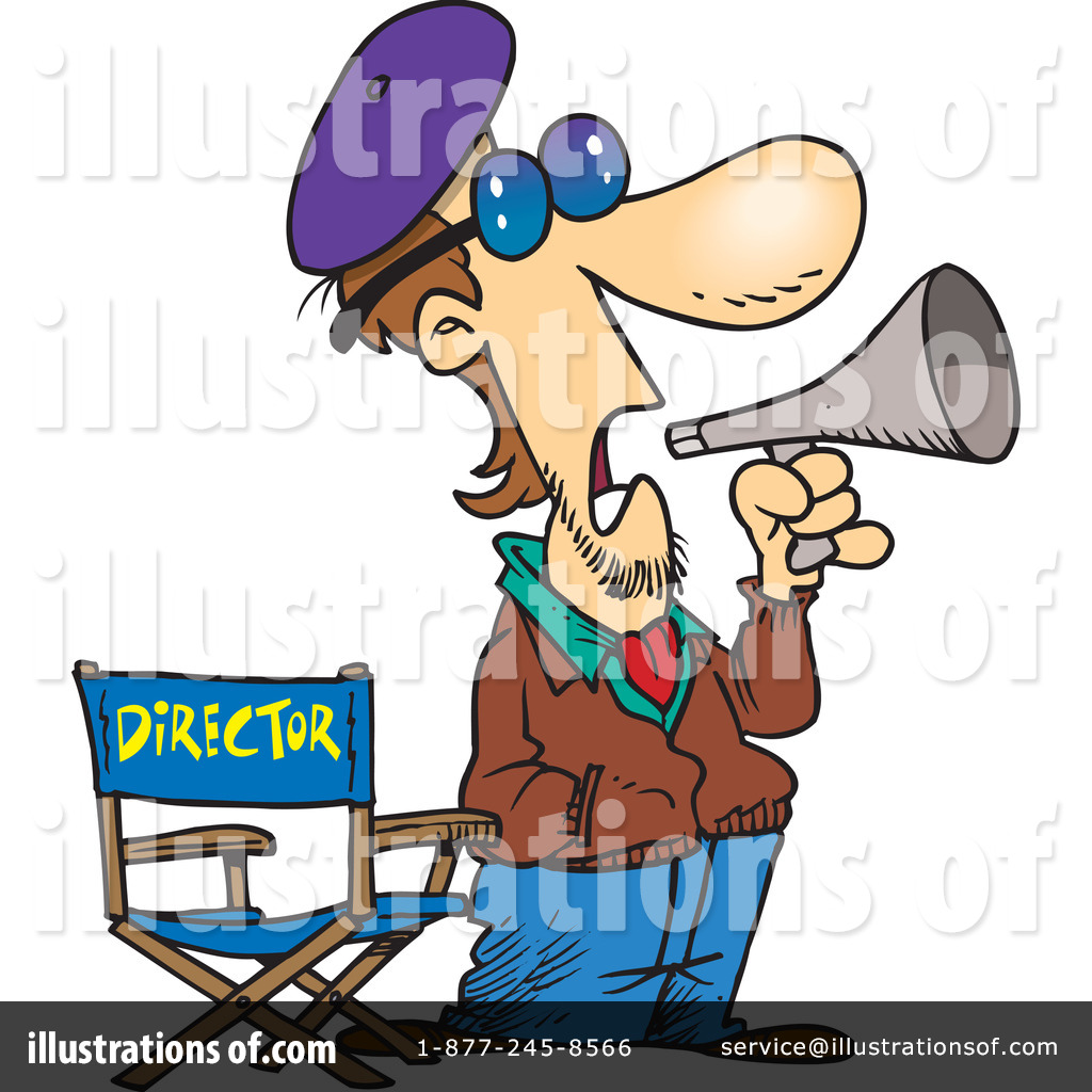 director clipart 443457 illustration by toonaday rh illustrationsof com movie director clipart movie director clipart