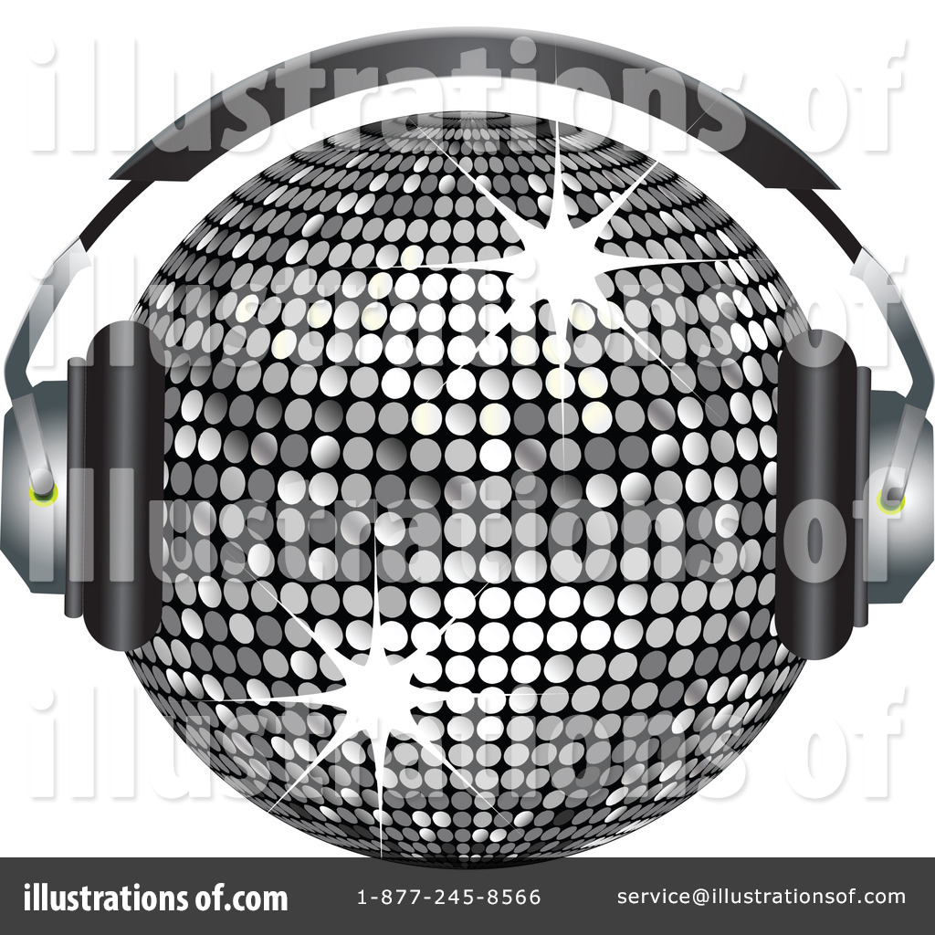 Disco Ball Clipart #225489 - Illustration by elaineitalia