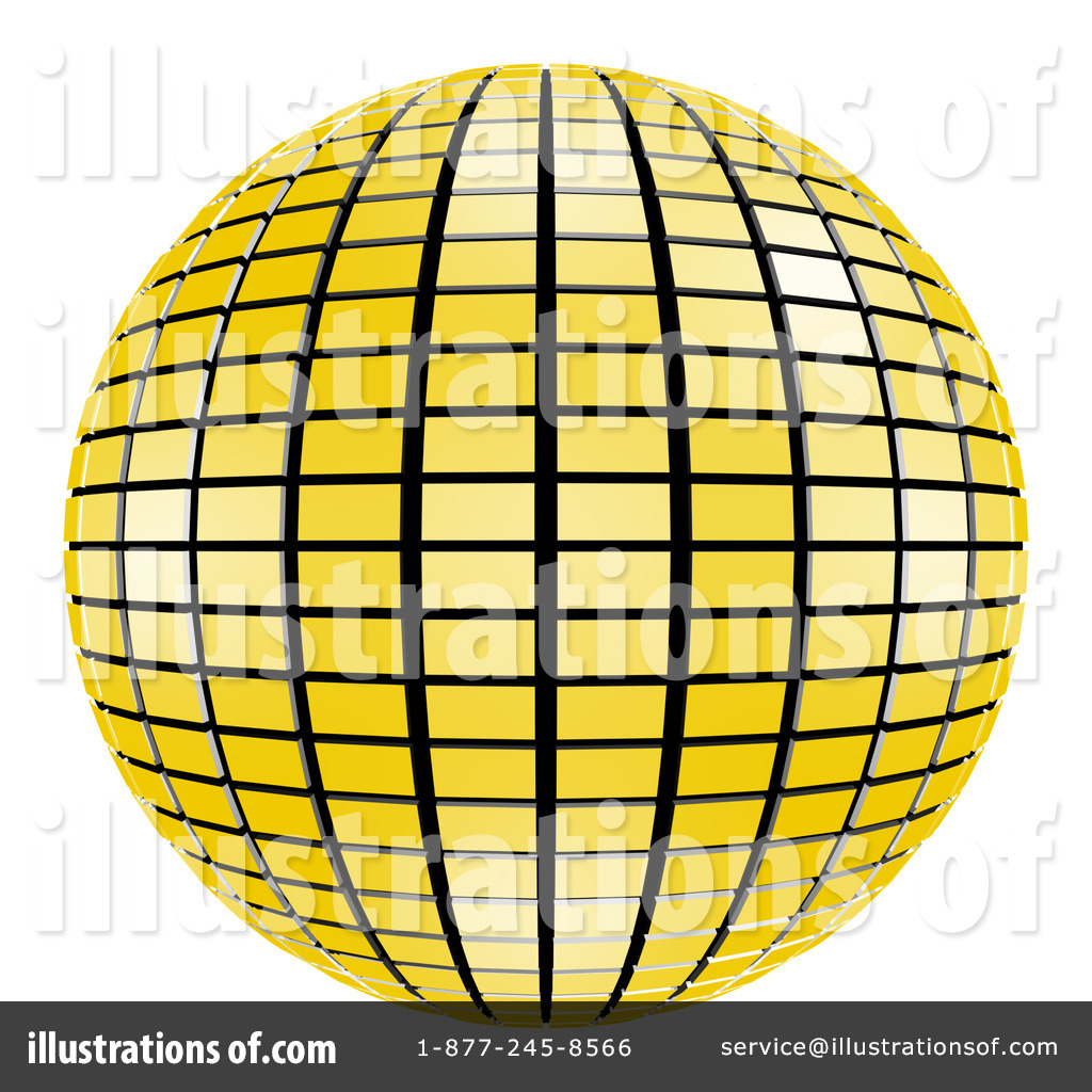 Disco Ball Clipart #61808 - Illustration by ShazamImages