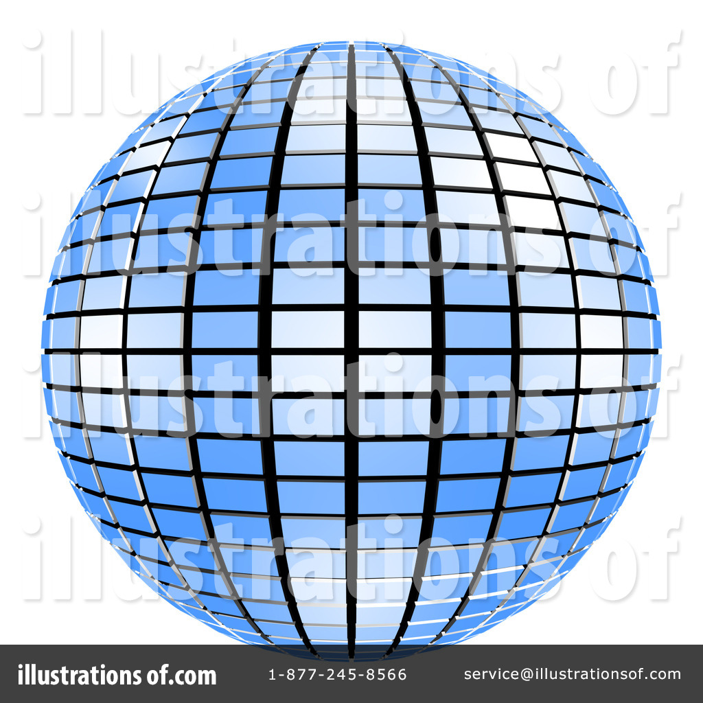 disco ball clipart 61809 illustration by shazamimages rh illustrationsof com disco ball clipart black and white animated disco ball clipart