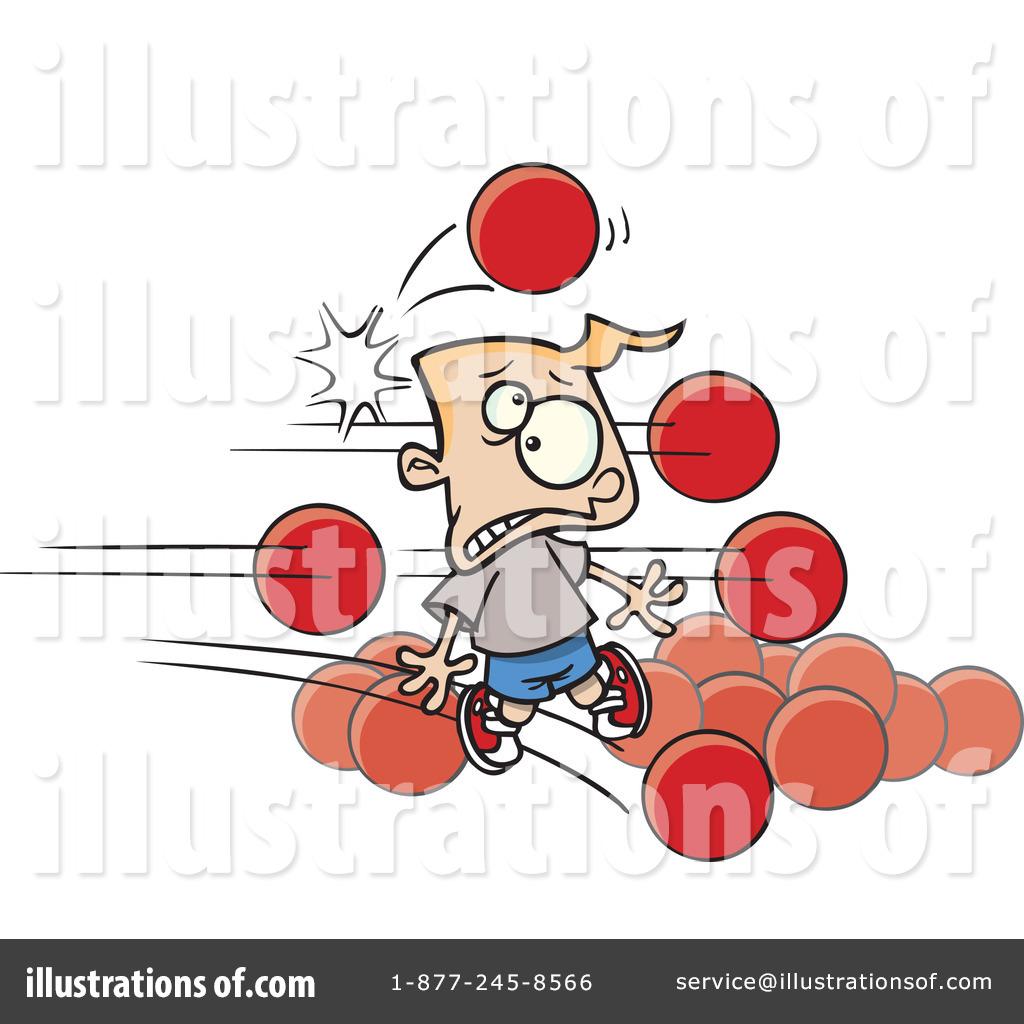 dodgeball clipart 443565 illustration by toonaday rh illustrationsof com Dodgeball Balls Dodgeball Clips