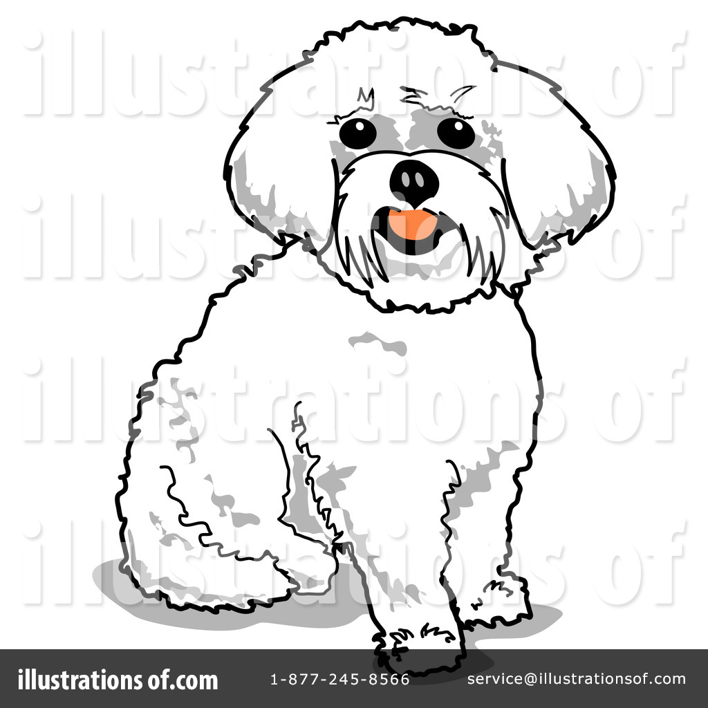 maltese dog clipart - photo #45
