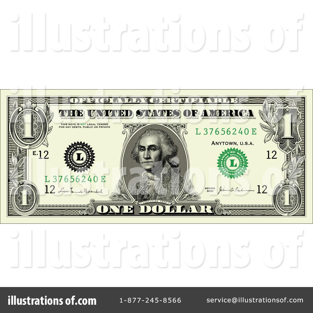 dollar bill clipart 224258 illustration by bestvector rh illustrationsof com clipart 100 dollar bill million dollar bill clipart