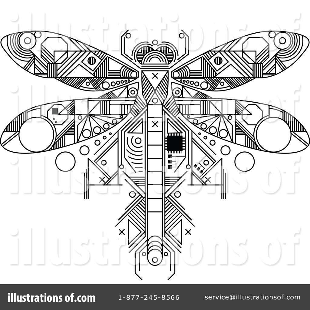 dragonfly clipart  1160412