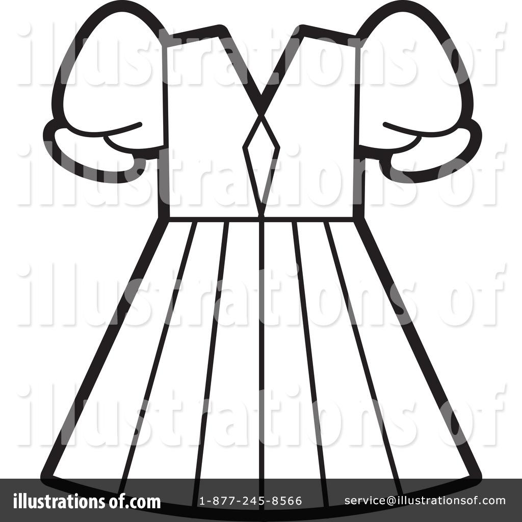 dress clipart 1078930 illustration by lal perera rh illustrationsof com Written Outline Clip Art Heart Clip Art