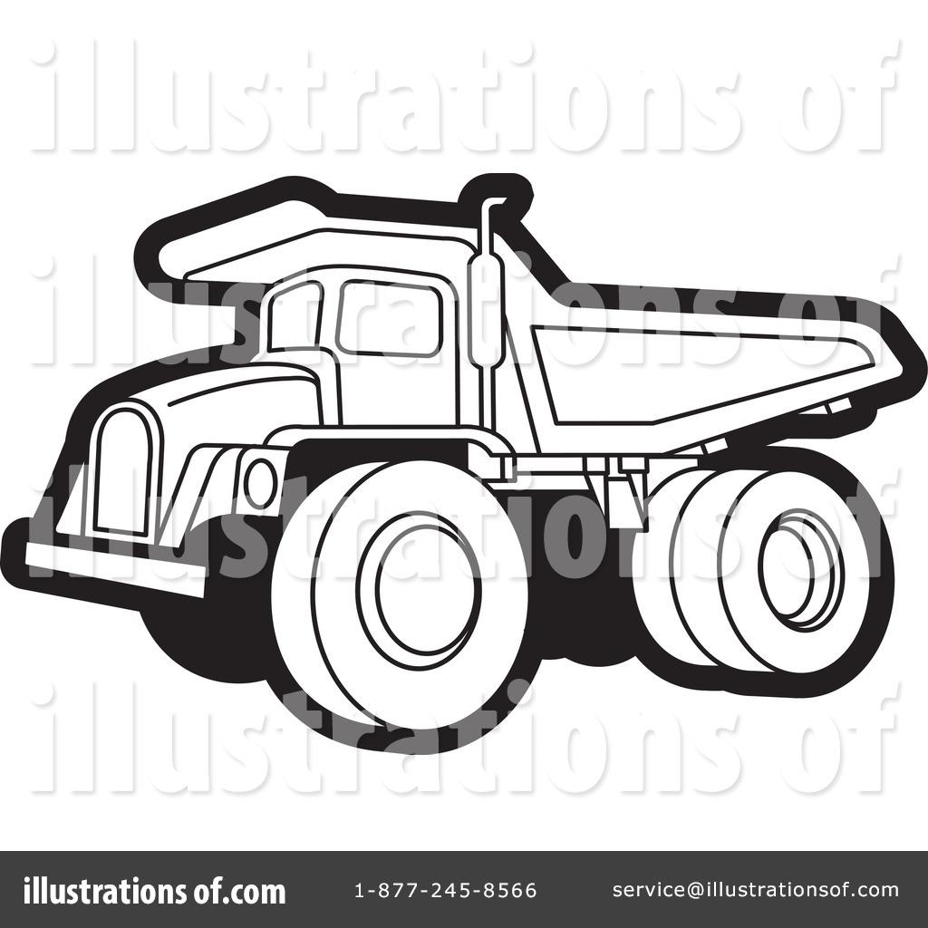 Dump Truck Clipart #1108003 - Illustration by Lal Perera