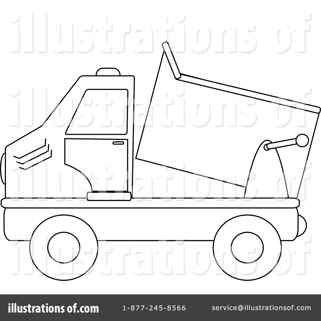 Dump Truck Clipart 212291 Illustration By Pams Clipart