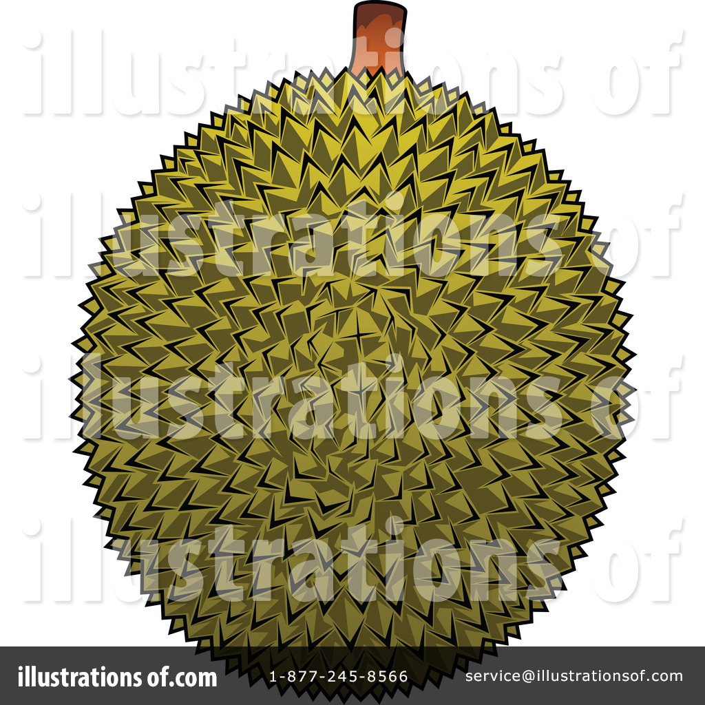 durian clipart 1390668 illustration by vector tradition sm durian clipart 1390668 illustration