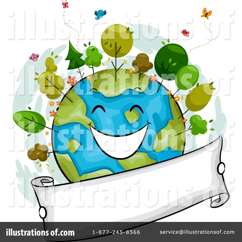 Earth Day Clipart #1092814 - Illustration by BNP Design Studio
