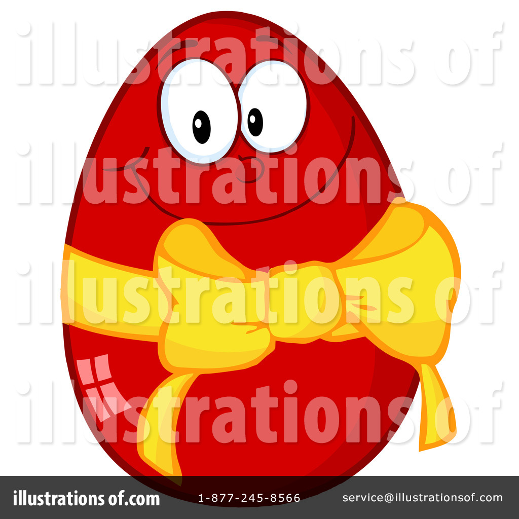 easter egg clipart 1096660 illustration by hit toon