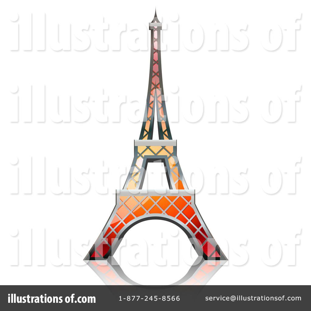 Royalty Free RF Eiffel Tower Clipart Illustration 224017 By Oligo
