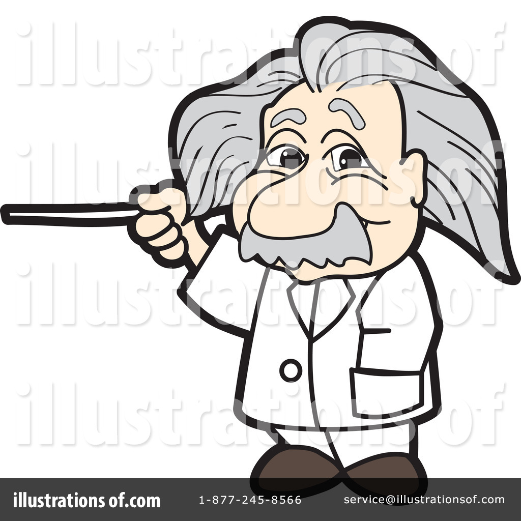 einstein clipart 1120144 illustration by toons4biz rh illustrationsof com einstein images clip art Einstein Clip Art Black and White