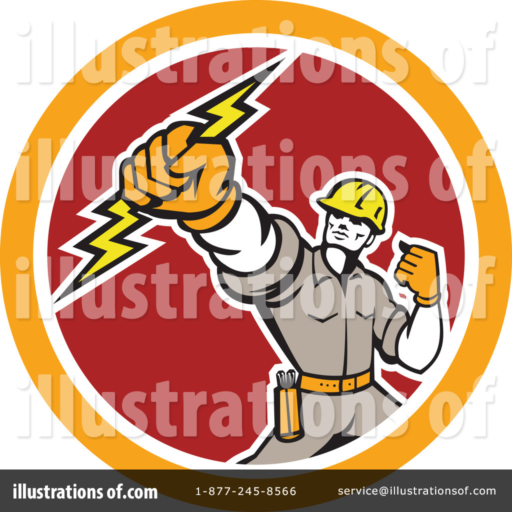 Royalty Free RF Electrician Clipart Illustration 1242087 By Patrimonio