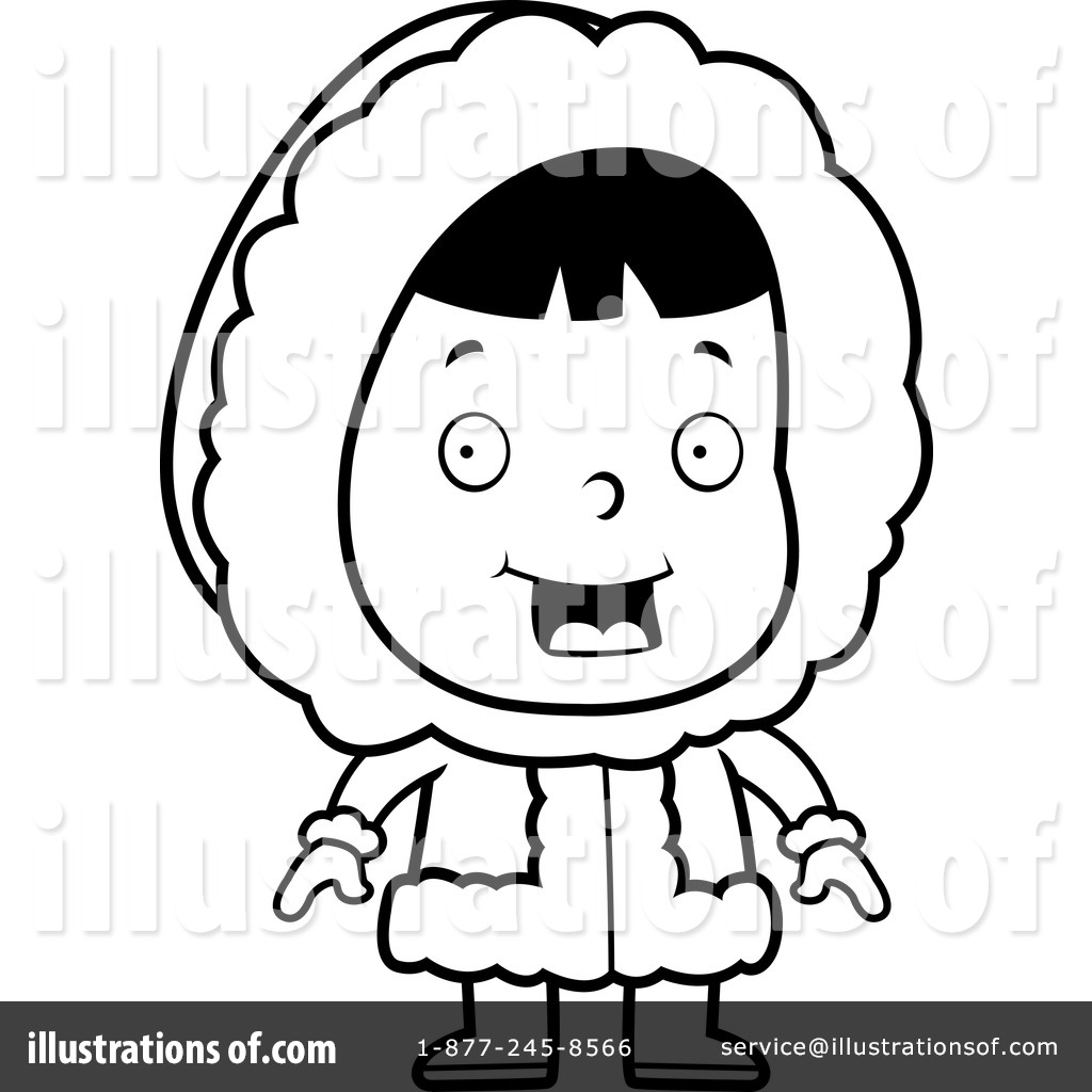 Clip Art Eskimo Clipart eskimo clipart 1156064 illustration by cory thoman royalty free rf thoman