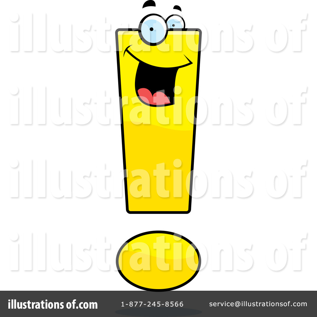 exclamation point clipart 94472 illustration by cory thoman rh illustrationsof com red exclamation point clipart Exclamation Point Template