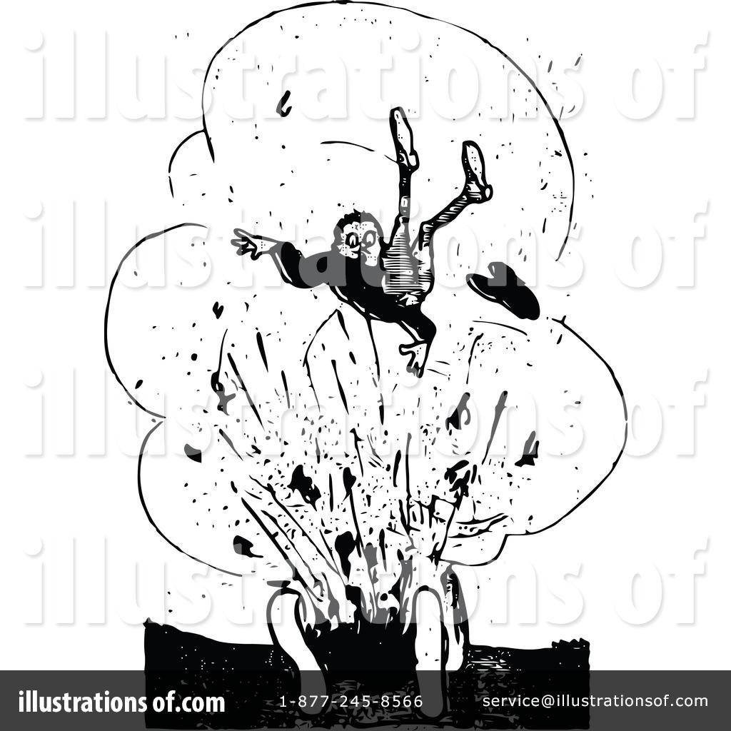 Explosion Clipart #1121551 - Illustration by Prawny Vintage