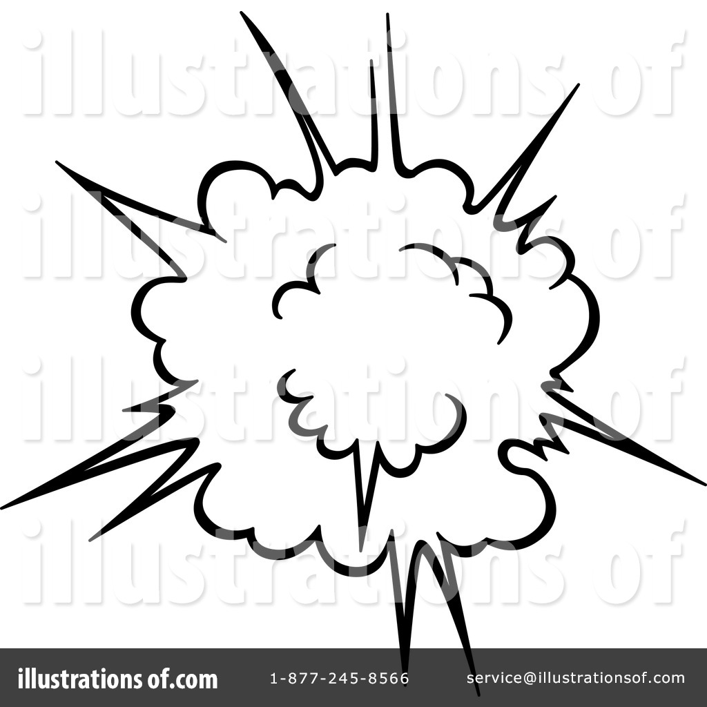Explosion Clipart #1192824 - Illustration by Vector Tradition SM