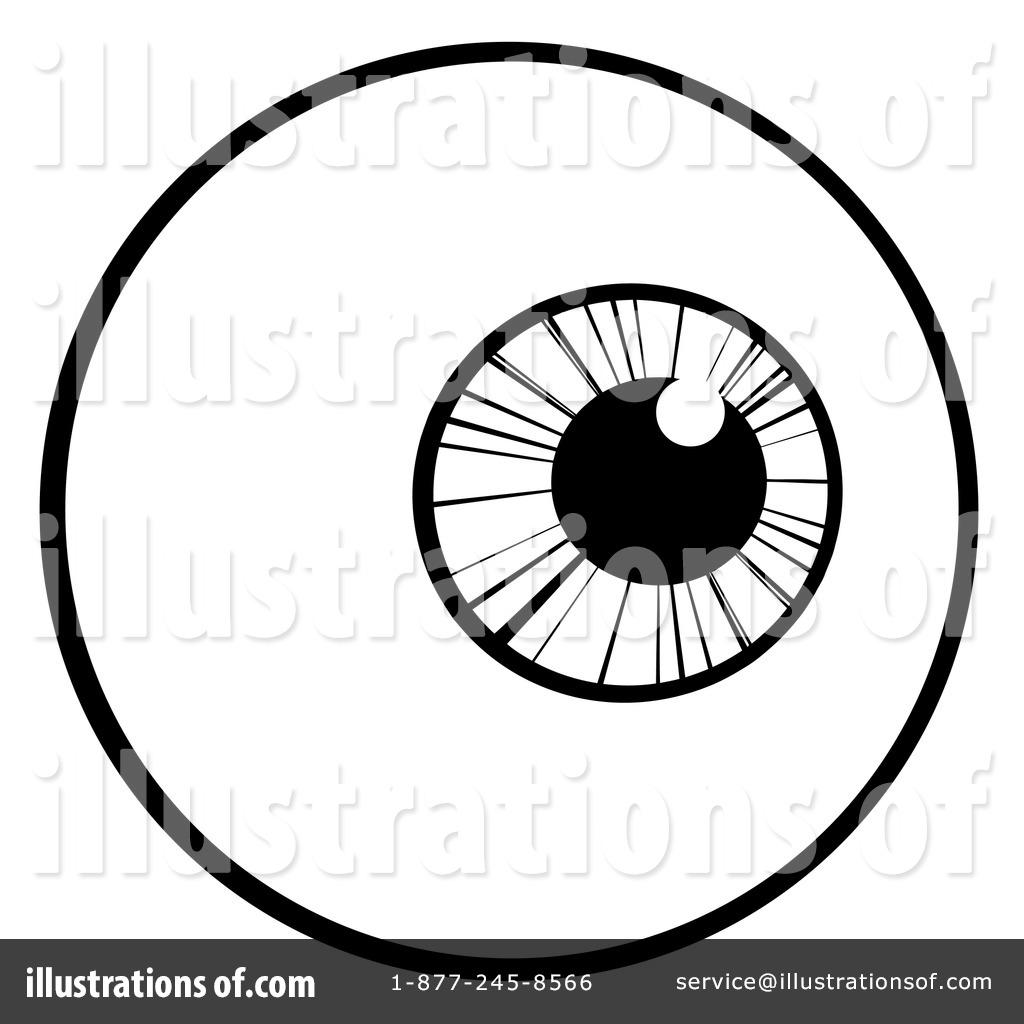 eyeball clipart 1095600 illustration by hit toon rh illustrationsof com eyeball images clip art eyeball cartoon clip art