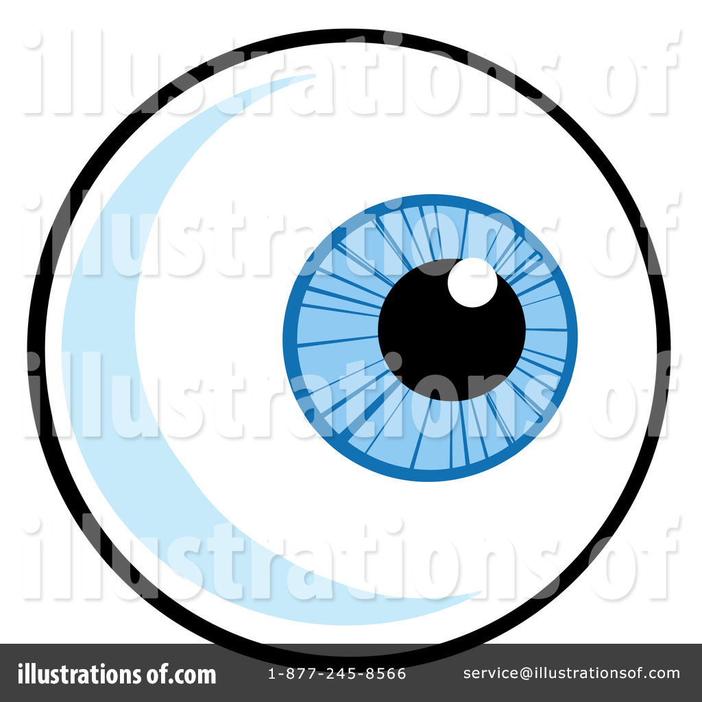 eyeball clipart 1095601 illustration by hit toon rh illustrationsof com eyeball clipart free eyeball clip art free