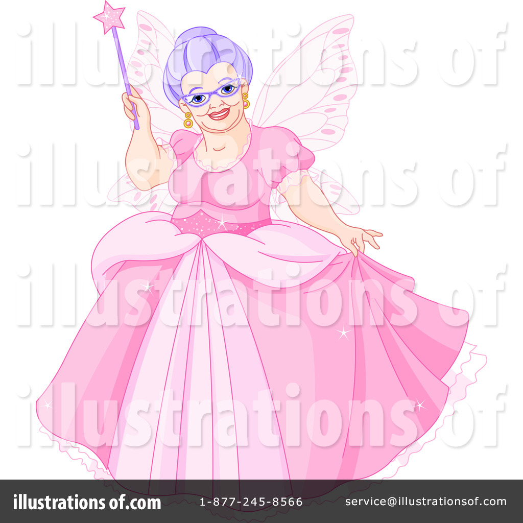 Fairy Godmother Clipart #1098333 - Illustration by Pushkin