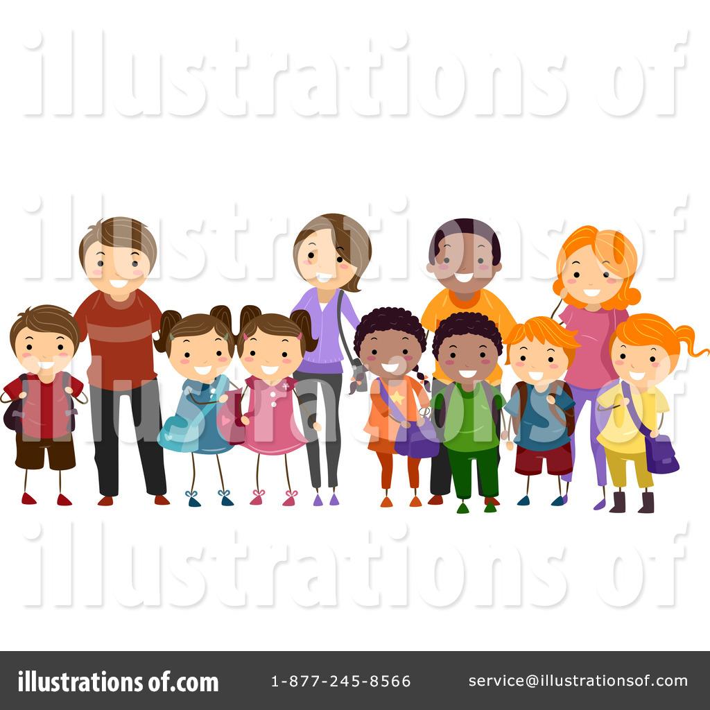 Family Clipart #1122722 - Illustration by BNP Design Studio