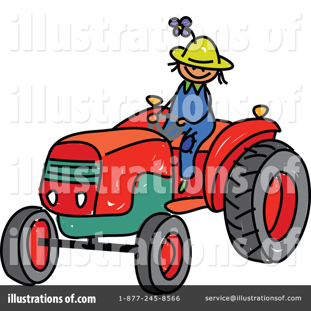 Tractor Clipart #225262 - Illustration by Prawny