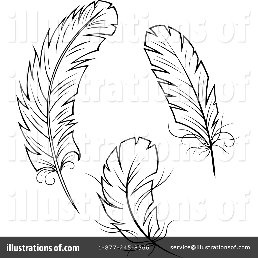 feathers clipart 1099491 illustration by vector tradition sm rh illustrationsof com feathers clipart free feathers clipart black and white