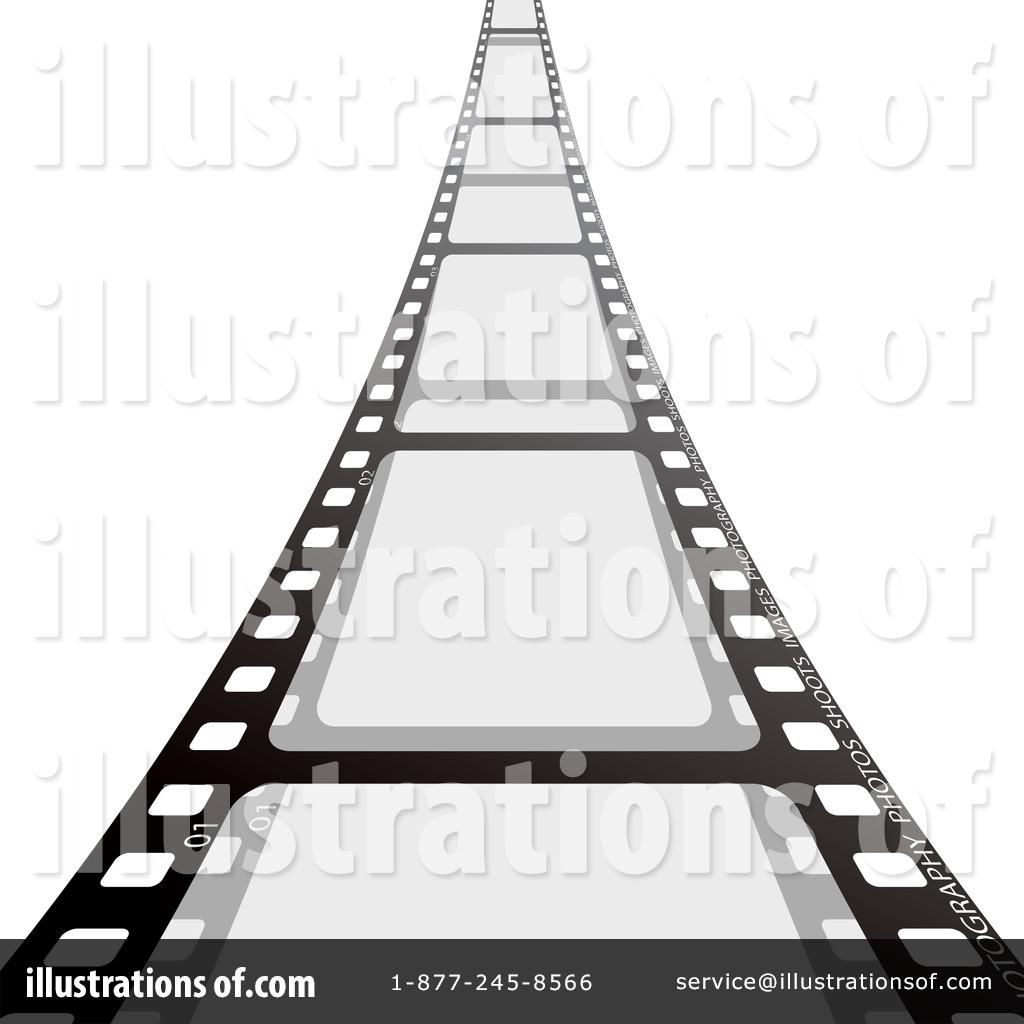 Film Strip Clipart #103585 - Illustration by michaeltravers