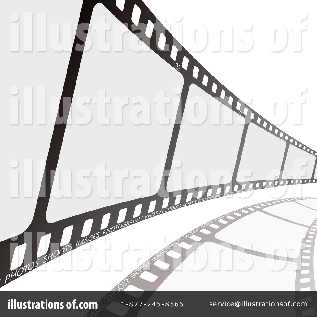Film Strip Clipart #103591 - Illustration by michaeltravers