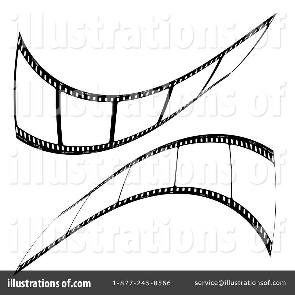 Film Strip Clipart #59044 - Illustration by michaeltravers