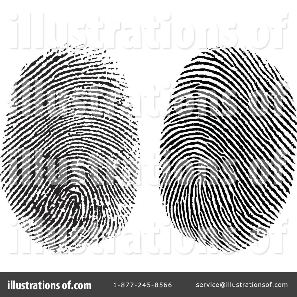 Fingerprint Clipart #432634 - Illustration by BestVector