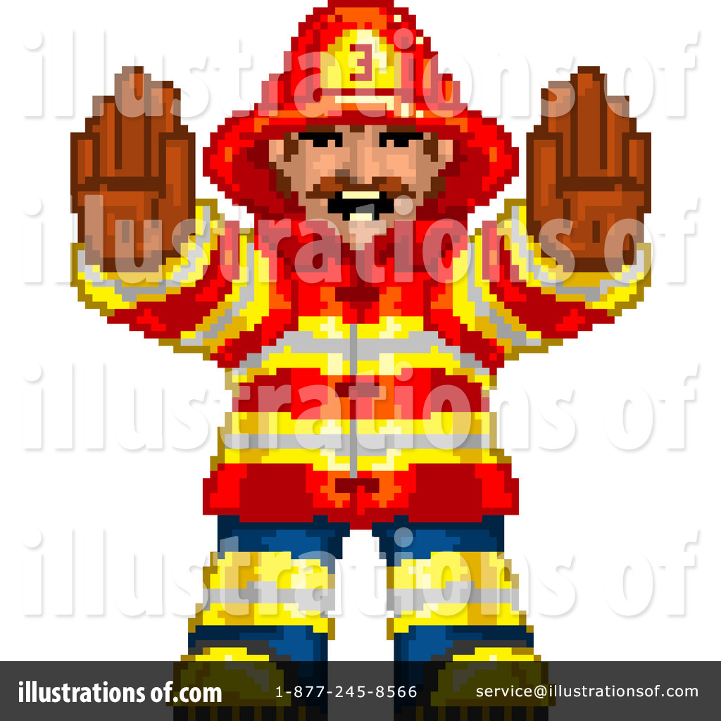 Fire Department Clipart #228245 - Illustration by Tonis Pan