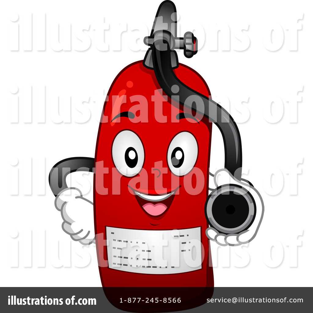 fire extinguisher clipart 1109020 illustration by bnp Cartoon Fireman Pole Firefighter Symbol Clip Art