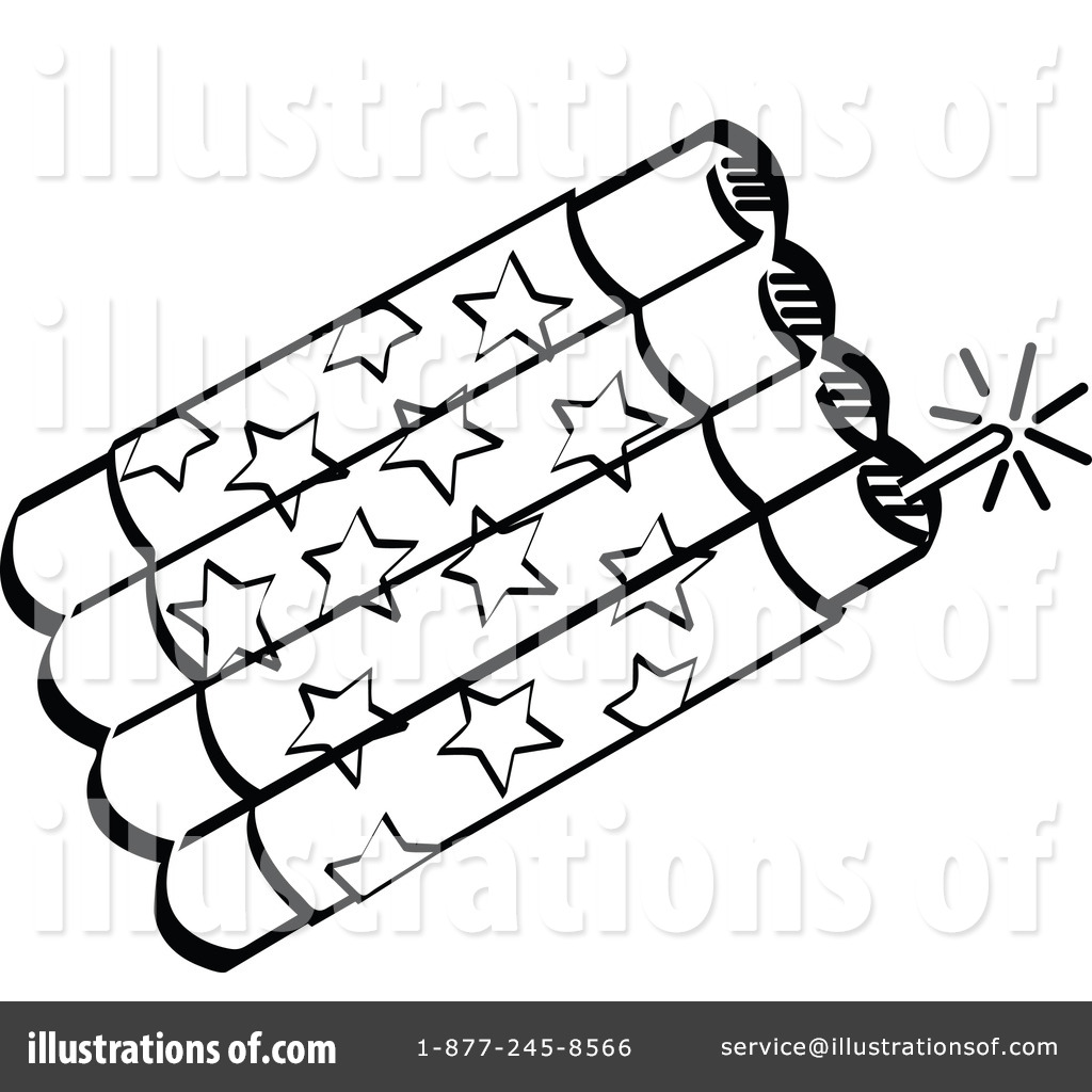 Firecrackers Clipart #101567 - Illustration by Andy Nortnik
