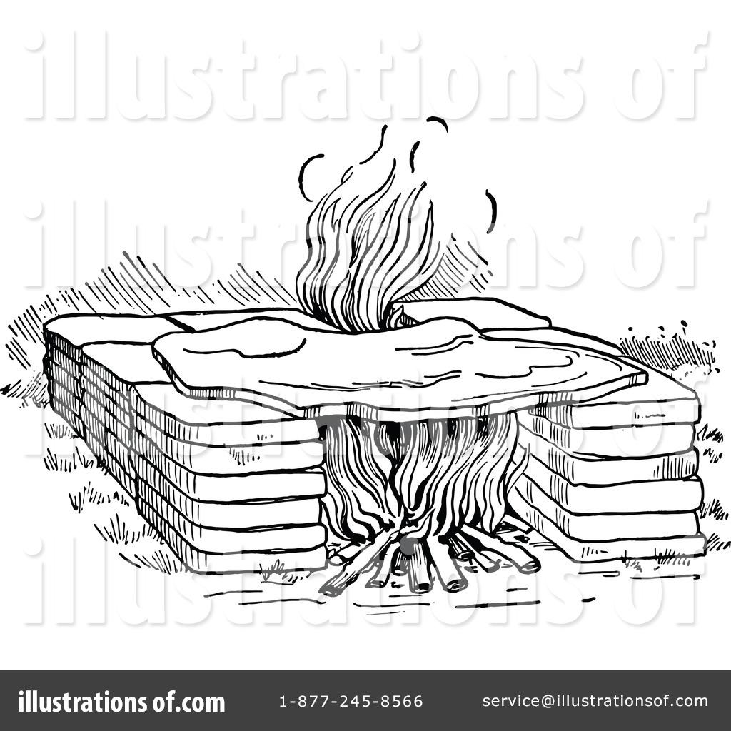 fireplace clipart 1149665 illustration by prawny vintage