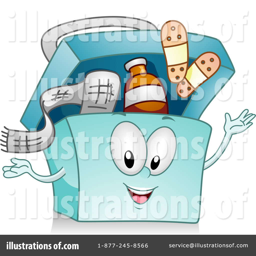 First Aid Kit Clipart #1084070 - Illustration by BNP Design Studio