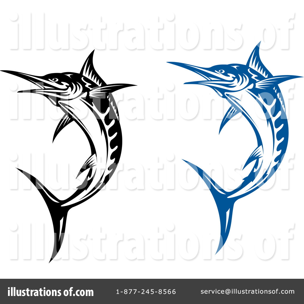 Fish Clipart #1096103 - Illustration by Vector Tradition SM