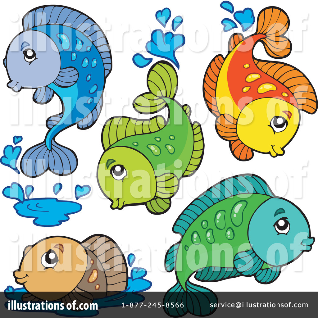 Freshwater fish clipart - Royalty Free Rf Fish Clipart Illustration 220803 By Visekart