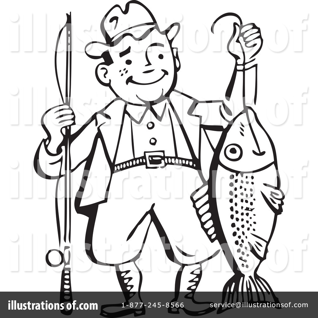 fishing clipart 210020 illustration by bestvector rh illustrationsof com fishing images clipart free fly fishing clipart images
