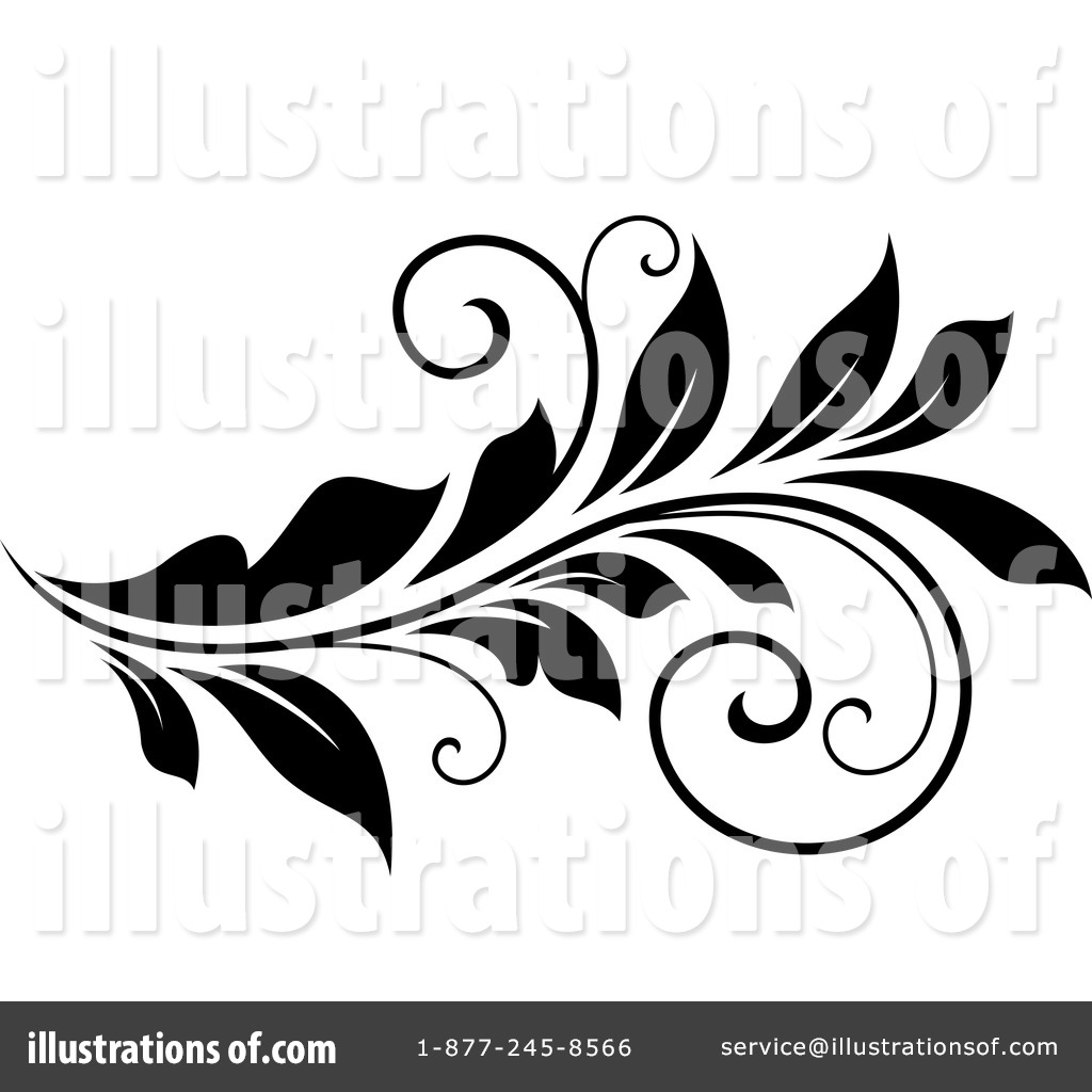 Flourish Clipart #1210984 - Illustration by Vector Tradition SM
