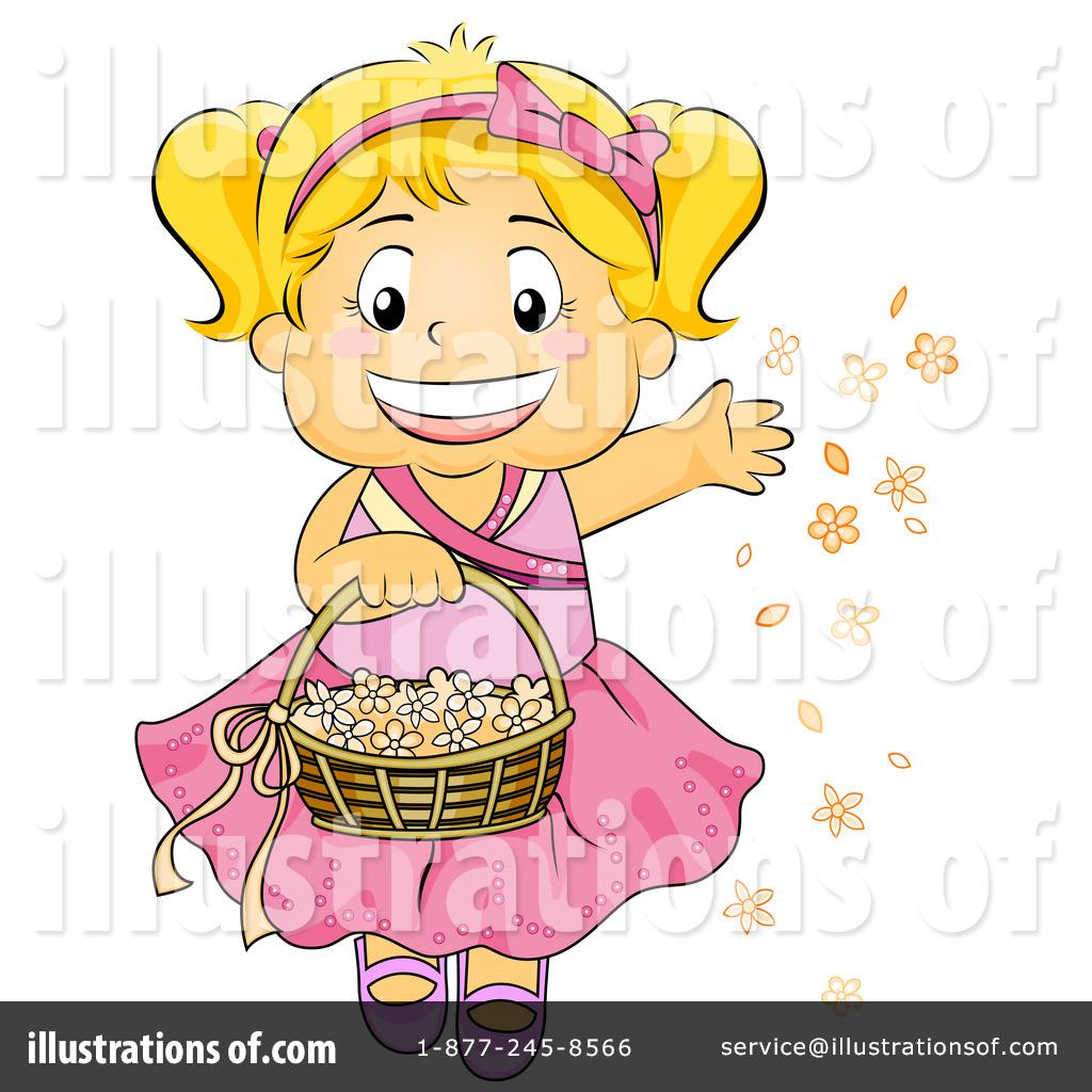 Flower Girl Clipart #432869 - Illustration by BNP Design Studio